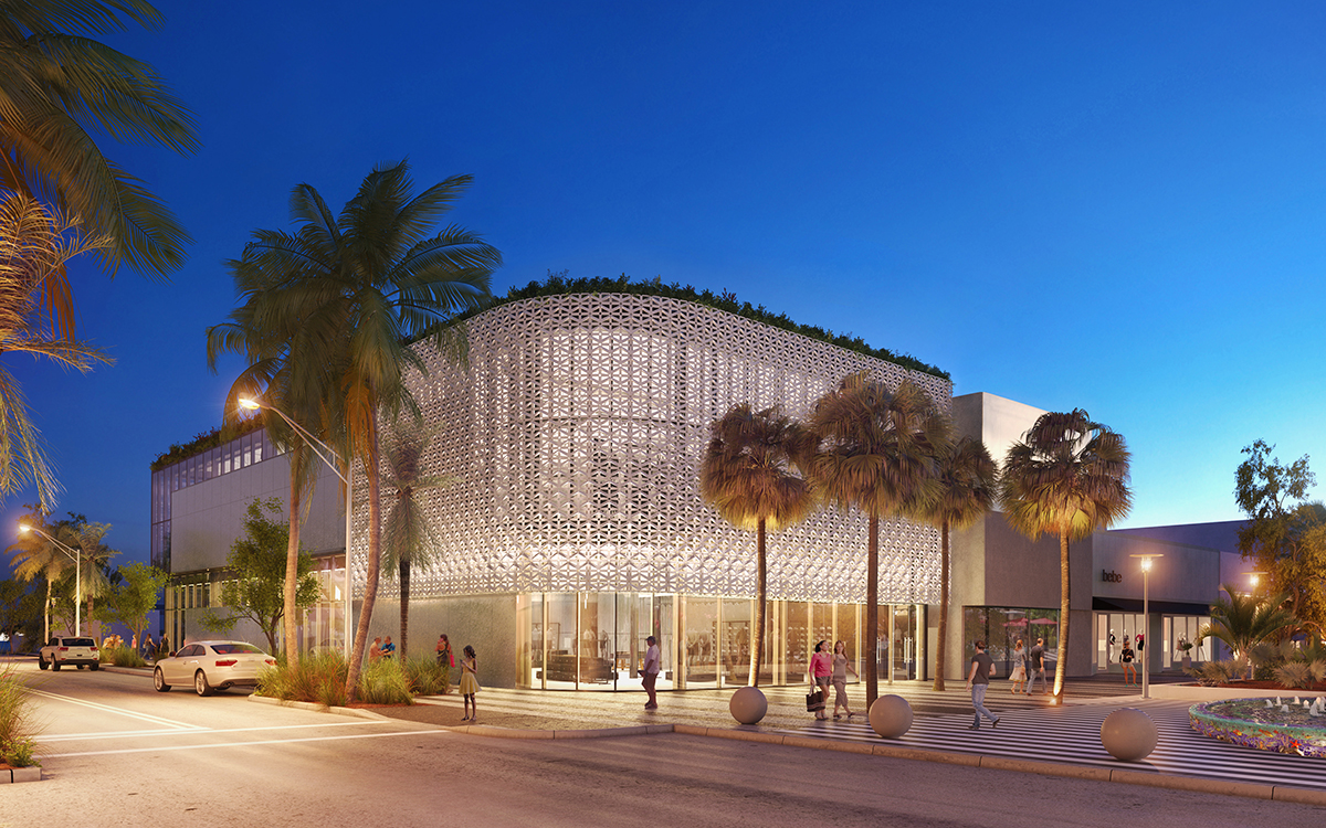 Flagship store building - Lincoln Road, Miami - KaDesign